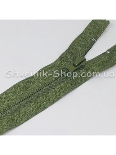 Молнии Обратная Спираль 18 cm  цвет Хаки в упаковке 100 штук