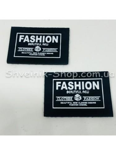 Нашивка спорт Fashion Размер : 36 мм на 26 мм  Цвет : Черный в упаковке 500 штук