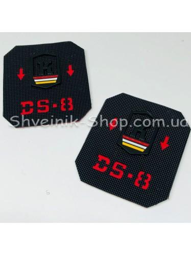 Нашивка спорт  Размер : 55 мм на 65 мм Цвет : Черный в упаковке 100 штук
