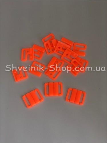 Застежка на купальники пластик цвет Оранжевый размер 1,5 см в упаковке 200 штук цена за упаковку