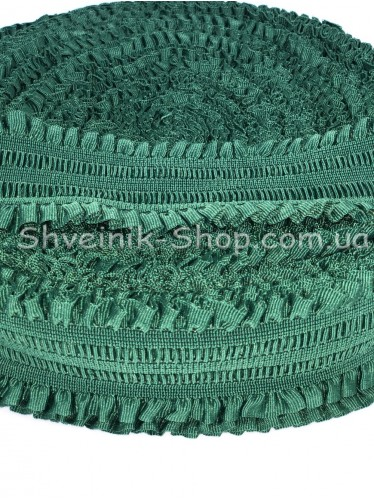 Резина ремни ( Гафре) ширина : 6см цвет Темно Зеленый в упаковке 25метров