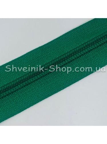 Молнии Рулонка  Т-5 Спираль Цвет Зеленая в упаковке 200 метров