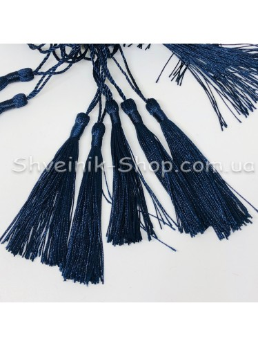 Кисточки Длина кисти : 8 см Цвет : Темно синий в упаковке 100 штук цена за упаковку
