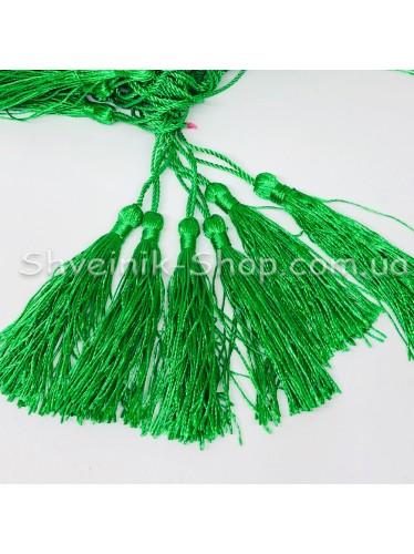 Кисточки Длина кисти : 8 см Цвет : Зеленый  в упаковке 100 штук цена за упаковку