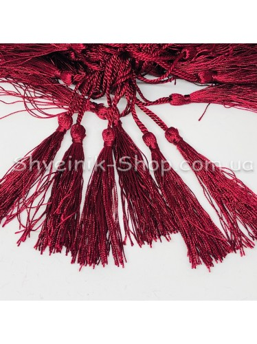 Кисточки Длина кисти : 8 см Цвет : Бордо в упаковке 100 штук цена за упаковку
