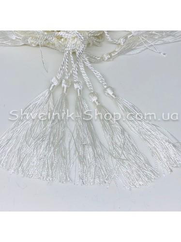 Кисточки Длина кисти : 8 см Цвет : Белый в упаковке 100 штук цена за упаковку