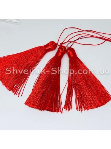 Кисточки Шелковые Длина кисти : 8 см Цвет : Красные в упаковке 100 штук цена за упаковку