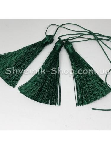 Кисточки Шелковые Длина кисти : 8 см Цвет : Зеленые  в упаковке 100 штук цена за упаковку