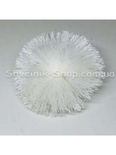 Кисточки Шелковые клеевые Длина кисти : 5 см Цвет : Белый  в упаковке 1 штучку цена за упаковку