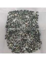 Стразы Стекло DMC Круглые  Размер : ss12 цвет:  Кристалл АВ ( Голограмма) в упаковке 1440 штук цена за упаковку