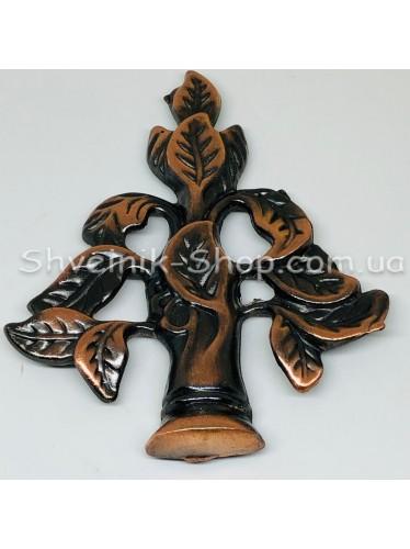 Крючки для штор в стенку с Дерево Высота : 11 см   Длина : 13 см Цвет : Медное  цена за 1 штуку