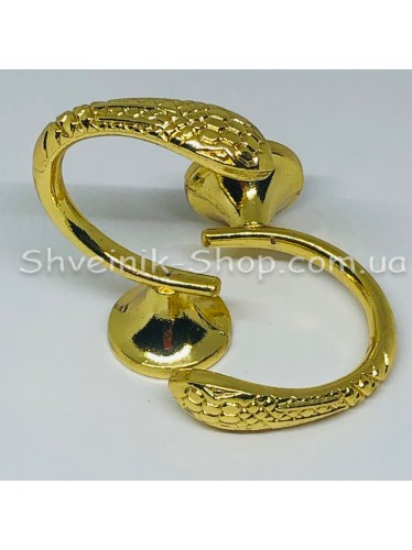 Крючки для штор в стенку Высота : 3 см   Длина : 4 см Цвет : Золото  цена за 2 штуки