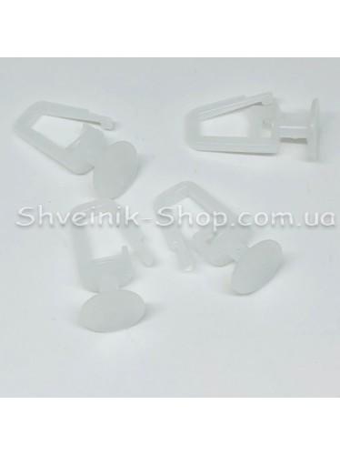 Крючек для карниза  на профильный карниз Цвет Прозрачный в упаковке 1000 штук цена за упаковку