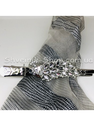 Крабик Шторный Цвет Серебро в упаковке 2 шт цена за упаковку