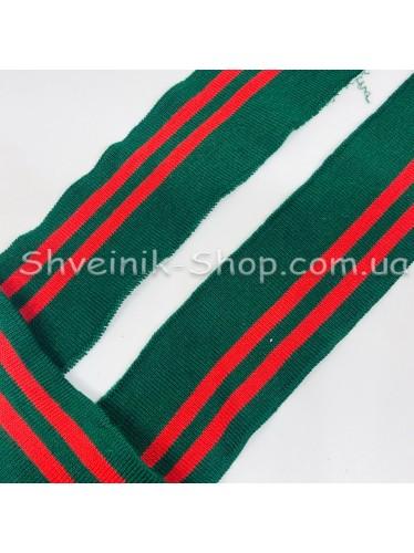 Довяз (Манжетная Резинка ) Ширина : 5,5 см Длина : 70 см Цвет : Зеленый + Красный цена за упаковку 50 штук