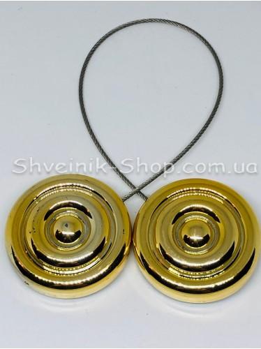 Магнит Шторный на Тросе с Улитка цвет : Золото цена за 1 штуку