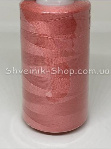 Нитка  №40 цвет Коралл ( А1039) в упаковке 3650 метров