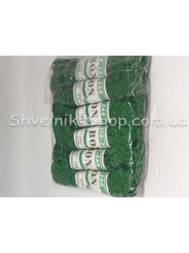 Вьюнок  Ширина 6 мм цвет Зеленая Трава в упаковке 138 метров