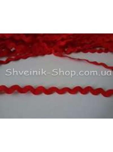Вьюнок  Ширина 6 мм цвет Красный в упаковке 230 метров
