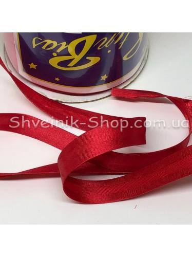 Бейка Размер 1,5 см в упаковке 110 метров Цвет : Красная темная