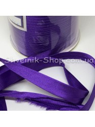 Бейка Размер 1,5 см в упаковке 110 метров Цвет : Фиолетовый