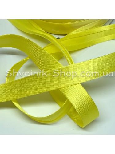 Бейка Размер 1,5 см в упаковке 110 метров Цвет : Лимон