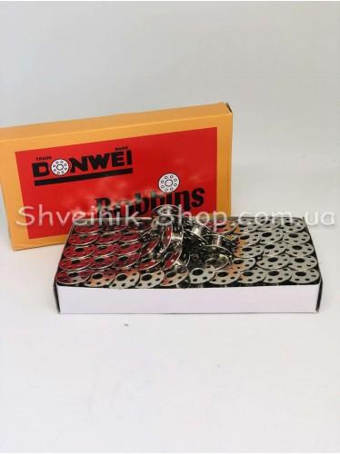 Шпулька Промышленная Метал с надсечкой  100 штук в упаковке цена за упаковку