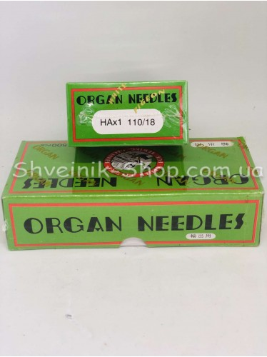 Иглы машинные бытовые  Organ #110 в упаковке 500 штук цена за упаковку