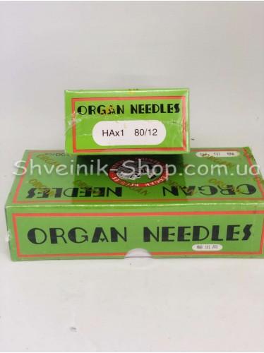 Иглы машинные бытовые  Organ #75 в упаковке 500 штук цена за упаковку