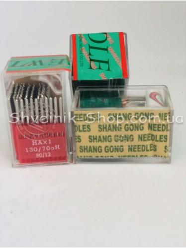 Иглы машинные бытовые  Organ HA #80 в упаковке 100 штук цена за упаковку