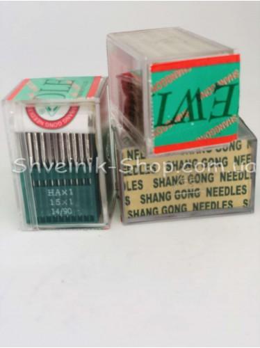Иглы машинные бытовые  Organ HA #100 в упаковке 100 штук цена за упаковку
