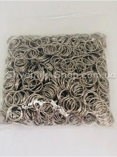 Кольцо для бретелек металл цвет Серебро размер 1 см в упаковке 1000 штук цена за упаковку
