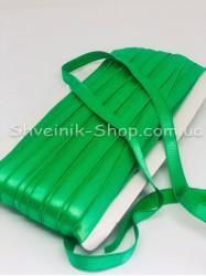 Резина для бретелек  зеленая ширина 1см в упаковке 46м цена за упаковку