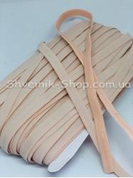 Резина для бретелек с силиконом бежевая ширина 1см в упаковке 46м цена за упаковку