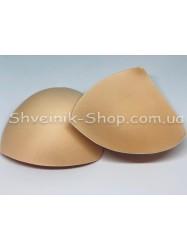 Чашки Треугольник  (купальник)  размер 18*18 в упаковке 50 пар цена за упаковку цвет Бежевый