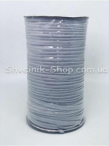 Резина на Бабине 0,5 мм в упаковке 132 Метра цвет : Белый