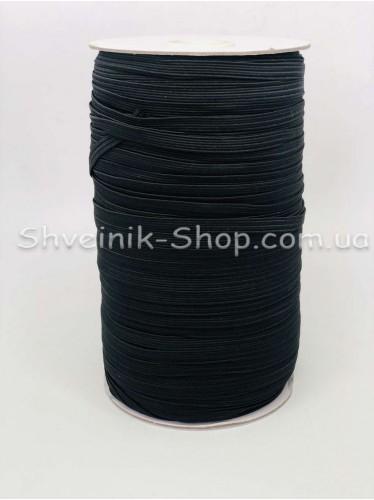 Резина на Бабине 0,5 мм в упаковке 132 Метра цвет : Черный