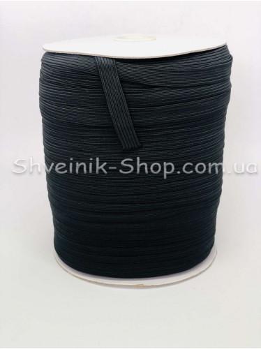 Резина на Бабине 0,8 мм в упаковке 132 Метра цвет : Черный