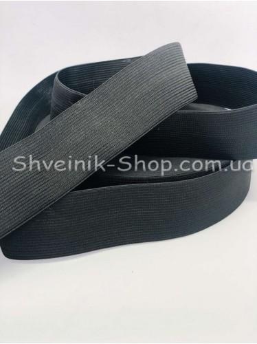 Резина ширина 2 см в упаковке 25 метров цвет : Черный цена за упаковку