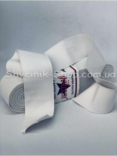 Резина Турция 7 см в упаковке 10 метров цвет : Белый