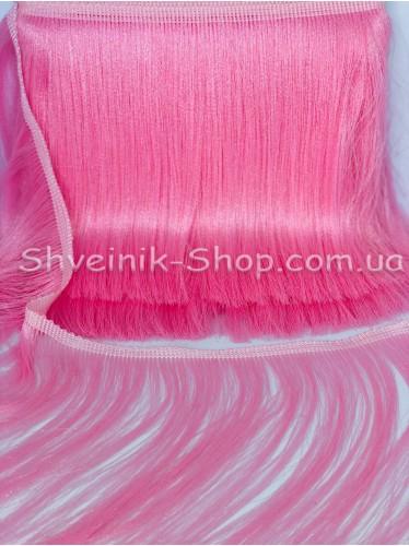 Бахрома Танцевальная (Порча Люрикс) Ширина 20 см в упаковке 9,20метров цвет: Розовая