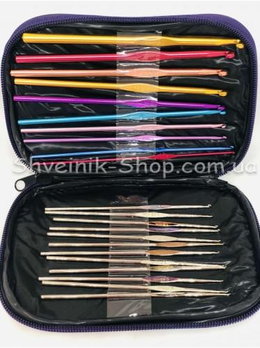 Набор крючков в сумочке Кожа от 0,6 - 6,5 Асорти