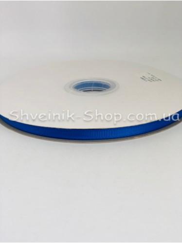 Репсовая Лента Ширина 0,6 см Цвет: Электрик в упаковке 92м цена за упаковку