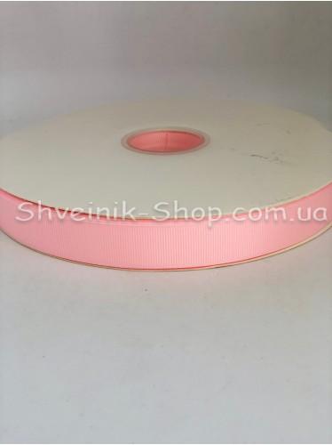 Репсовая Лента Ширина 2 см Цвет: Розовый в упаковке 92 м цена за упаковку