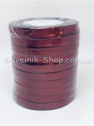 Репсовая Лента Ширина 1 см Цвет: Бордо в упаковке 230м цена за упаковку