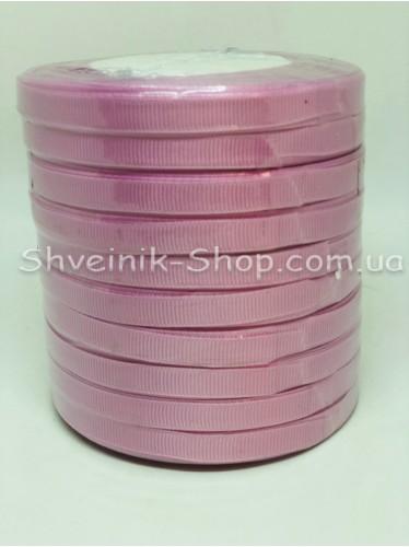 Репсовая Лента Ширина 1 см Цвет: Сиреневый в упаковке 230м цена за упаковку