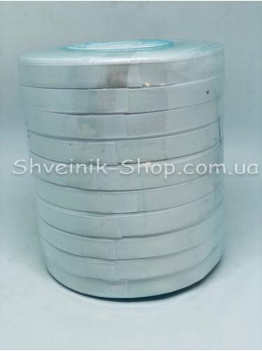 Репсовая Лента Ширина 1 см Цвет: Белый в упаковке 230м цена за упаковку