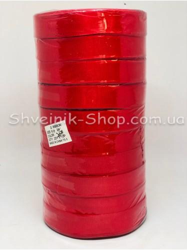 Репсовая Лента Ширина 2 см Цвет: Красный в упаковке 230 м цена за упаковку