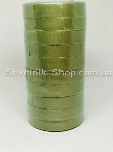 Репсовая Лента Ширина 2 см Цвет: Оливка в упаковке 230 м цена за упаковку