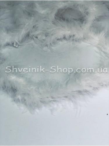 Пух лебяжий 1,5 метров цвет Белый в упаковке 10 штук